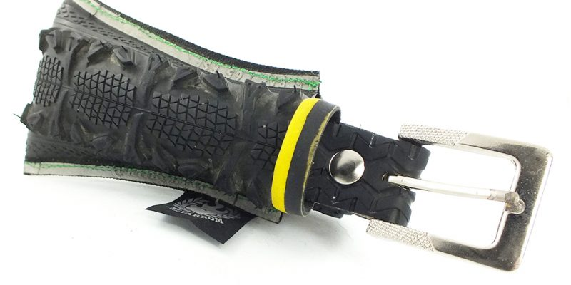 Package bag and Bicycle Tire Belt from Bike Tyre