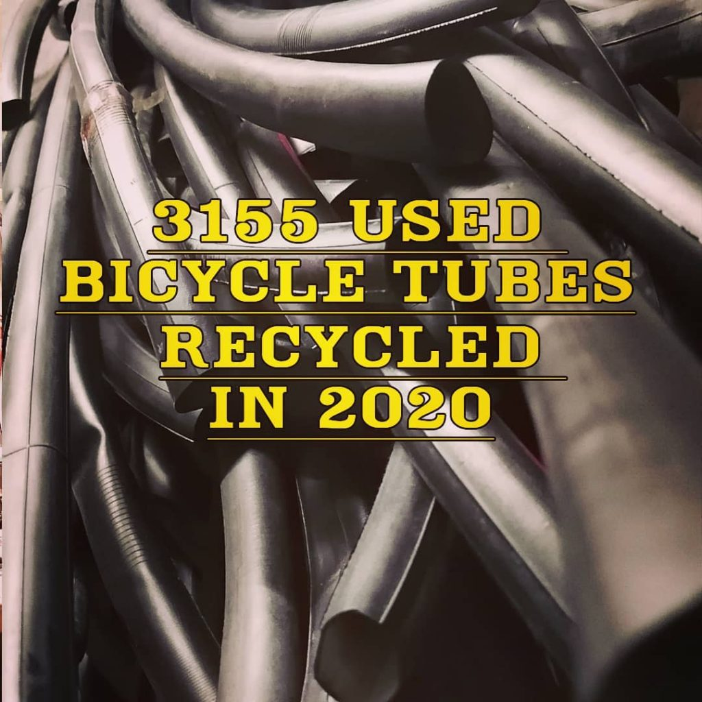 Bicycle inner tube recycling in 2020